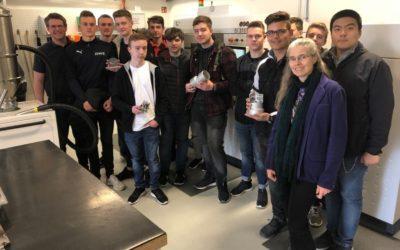 3D-Druck-Projekt: Are-Gymnasium bei LIGHTWAY in Niederzissen