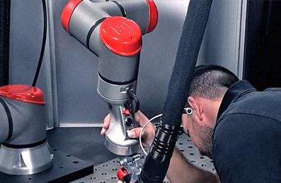 3D-Metall-Druck: Ergonomisches Roboter-Bauteil von LIGHTWAY