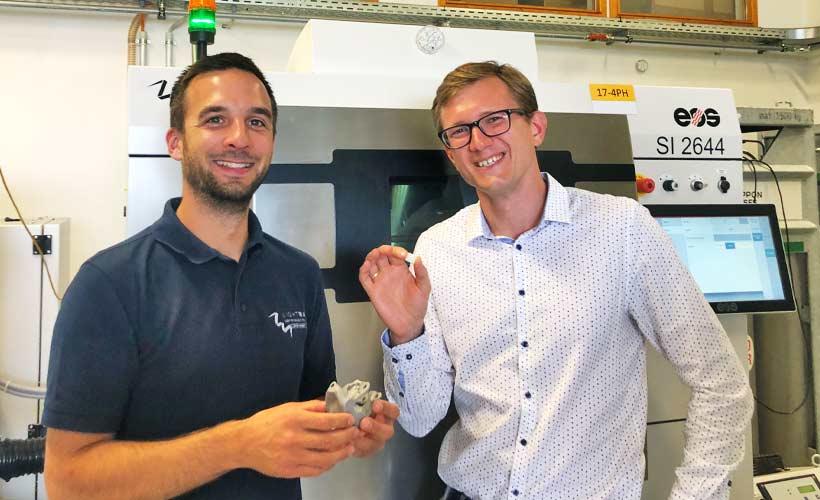 Metall trifft technische Keramik im 3D-Druck