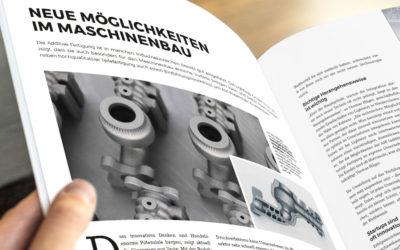Beeindruckende Vorteile im Maschinenbau mit 3D-Laserschmelzen